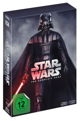 Star Wars - The Complete Saga I-VI Bluray Box