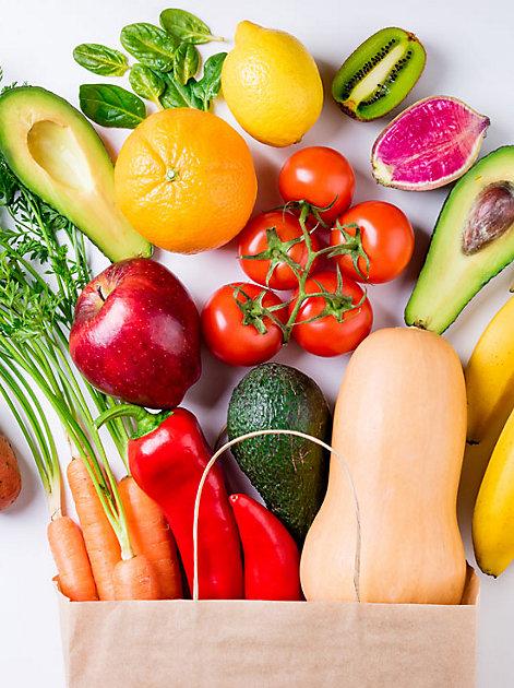 Je bunter, desto munter: In Obst und Gemüse stecken reichlich Vitamine