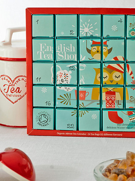Zum Genießen: Der Tee-Adventskalender Christmas