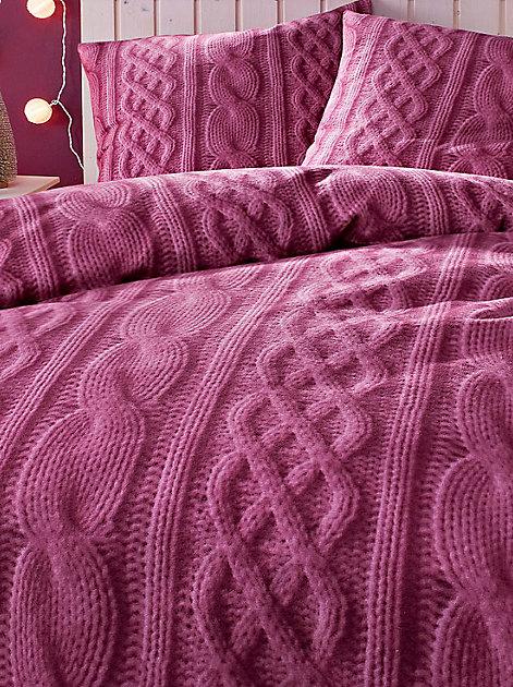 Mit kuscheliger Bettwäsche kommt gemütliche Stimmung auf