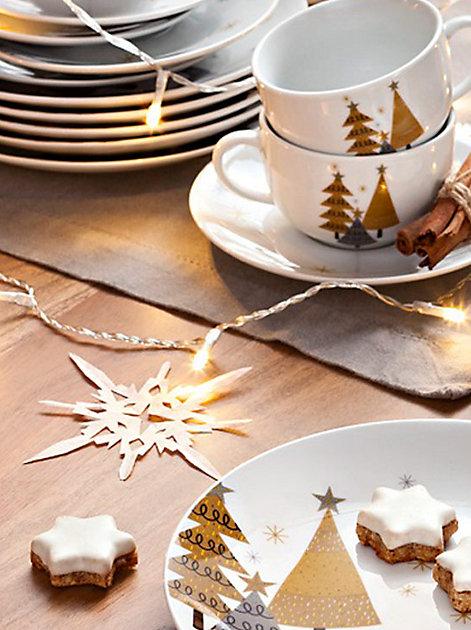 Weihnachtsstimmung an der Kaffeetafel
