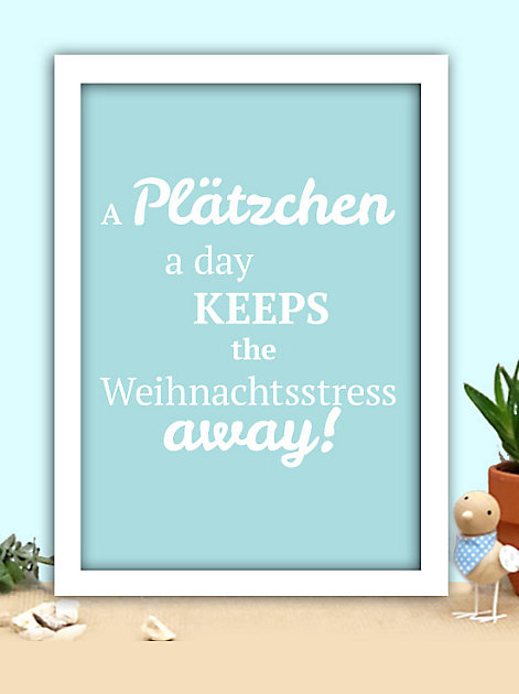A Plätzchen a day keeps the Weihnachtsstress away!