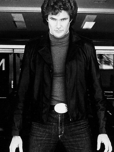 """Kultstar der 80er-Jahre: David Hasselhoff in """"Knight Rider"""""""