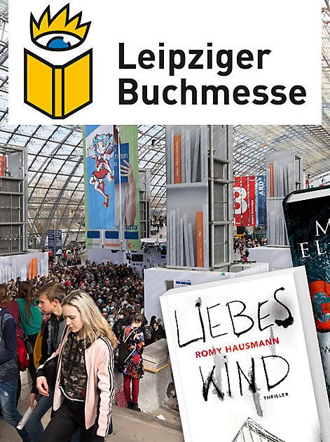 Die Leipziger Buchmesse (21. bis 24. März) ist das grösste Event des Bücher-Frühlings