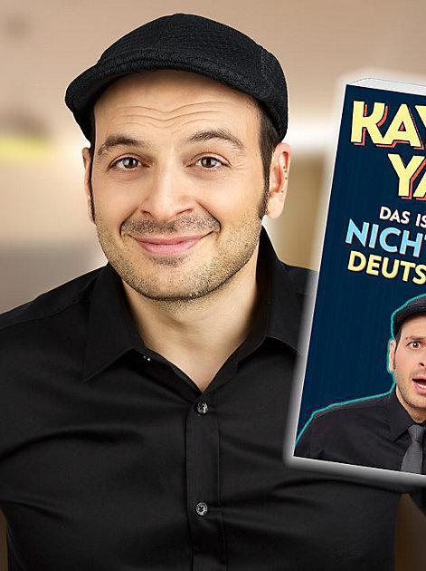 """TV-Komiker Kaya Yanar (""""Was guckst du?!"""") im Interview über sein neues Buch """"Das ist hier aber nicht so wie in Deutschland!"""""""
