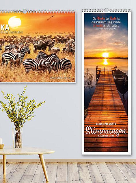 Zaubert Stimmung in jeden Raum: ein grossformatiger Fotokalender