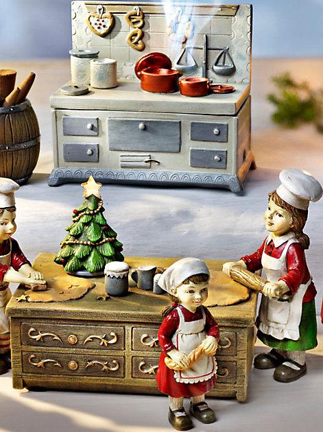In der Weihnachtsbäckerei gibt es manche Leckerei...