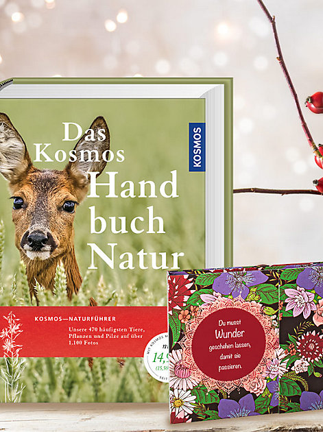 Geschenktipp für Naturfreunde: Das Handbuch Natur - ein Naturführer