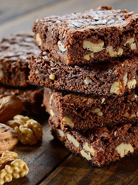 Wissenwertes rund um die eckigen Brownies I Mit Rezept für Walnuss-Brownies