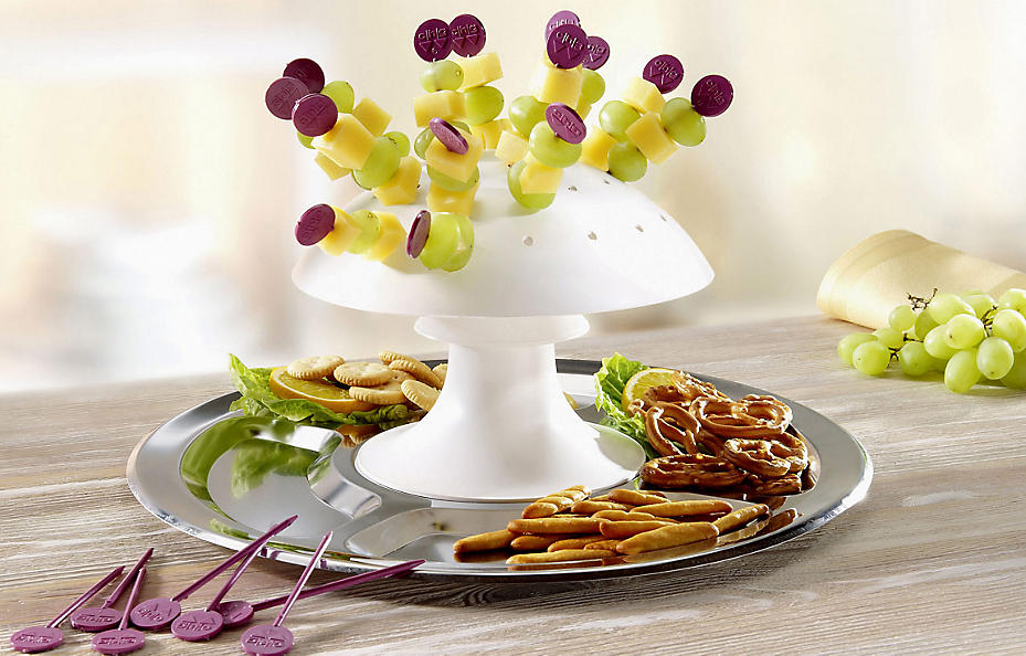 Party-Pilz für Käse-Snacks