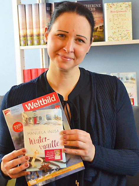 """Wir verlosen 10 signierte Exemplare des neuen Romans """"Wintervanille"""" von Manuela Inusa."""