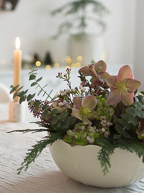 Adventsgesteck selber machen: Sabine vom Blog Villa Josefina zeigt, wie's geht