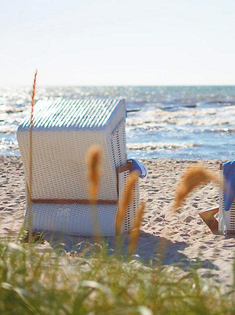 Urlaub: Erholung im Strandkorb