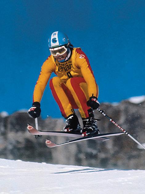 Bernhard Russi gewann in den 1970-er Jahren Olympiagold