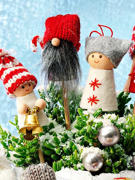 24 kleine Wichtel aus dem Schwedenhaus verzaubern die Wartezeit auf Weihnachten dieses Jahr