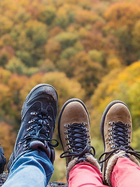 Schuhe schnüren und los: Jetzt heißt es raus in die Natur und das Immunsystem auf Trab bringen