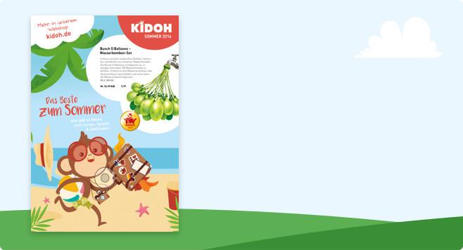 Der neue Kidoh Katalog - durchblättern