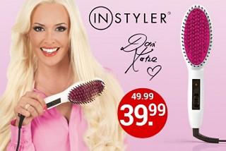 Keramik-Glättbürste für glattes und glänzendes Haar