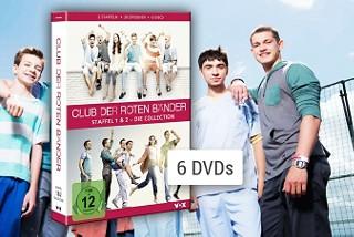 Der Club der roten Bänder - Staffel 1 & 2 auf DVD & Blu-ray