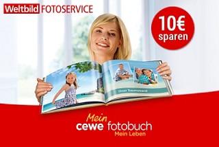 Sparen Sie 10€ auf das CEWE FOTOBUCH!