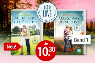 Lost in Love: Die Green-Mountain-Serie von Marie Force