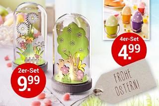 Stimmen Sie sich schon jetzt auf Ostern ein - mit Frühlingsdeko & Geschenk-Ideen