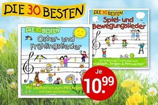 Die 30 besten - Kinder CDs hier kaufen