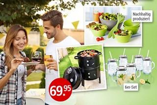 Lust auf Gartenparty? Entdecken Sie hier alles für Grillspass und mehr!
