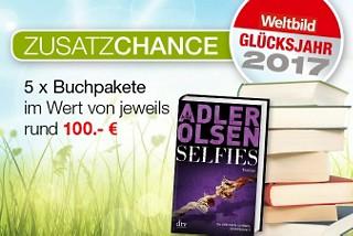 Zusatzchance: Gewinnen Sie jetzt 5 Buchpakete im Wert von jeweils rund 100.- €!