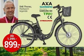 Perfekt für die neue Fahrradsaison: E-Bikes der neuen Generation