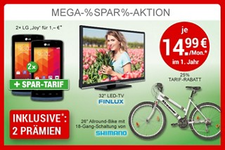 Mega Spar Aktion!