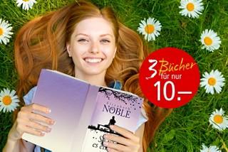 Jedes Taschenbuch nur Fr. 5.- und 3 Bücher für nur Fr. 10.-