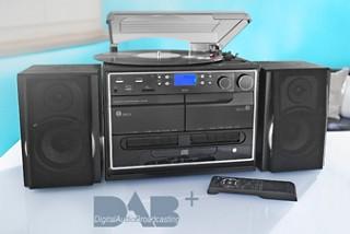 Kompaktanlage DAB+ mit Plattenspieler