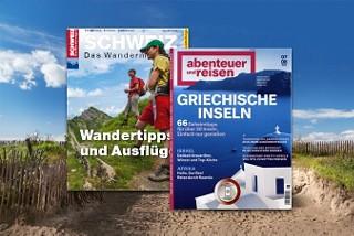 Lassen Sie sich von unseren Reise-Zeitschriften inspirieren
