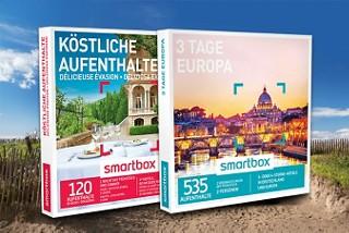 In unseren Weltbild-Filialen finden Sie tollen Smartboxen zum Thema Reisen. Verschenken Sie doch mal eine Reise