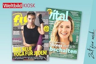 Fitness-Zeitschriften im Weltbild Kiosk abbonieren!