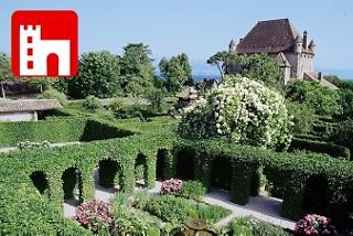 Yvoire - Schlosspark am Genfersee - Zur Französischen Seite des Genfersees
