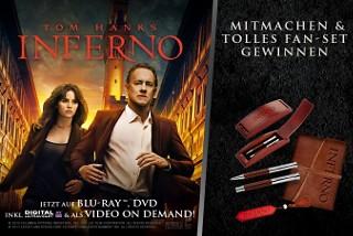 Gewinnspiel Inferno mit 10 Fan-Paketen
