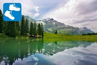 Wanderung Lac Retaud, Les Diablerets