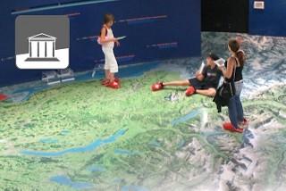 Das Verkehrshaus in Luzern ist für Kinder ein richtiges Erlebnisparadies.