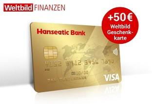 GoldCard: Jetzt mit 50 € Geschenkkarte von Weltbild!