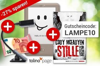 Nur bis 28.2: tolino page Sparset - inkl. 10.- € Gutschein!