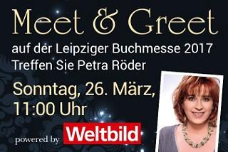Treffen Sie Petra Röder auf der Leipziger Buchmesse!