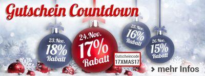 Nur heute: 17% Rabatt für Sie bei unserem Gutschein-Countdown!