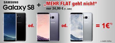 Samsung Galaxy S8 für nur 1€!