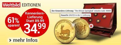 Goldmünzen-Klassiker (Weltbild EDITION)