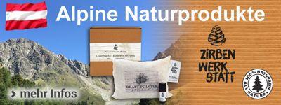 Alpine Naturprodukte - Gutes aus Österreich