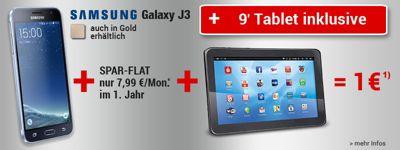 Samsung Galaxy J3 für nur 1€!