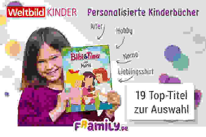 Personalisierte Bücher: Das bin ja ICH in meinem Buch!