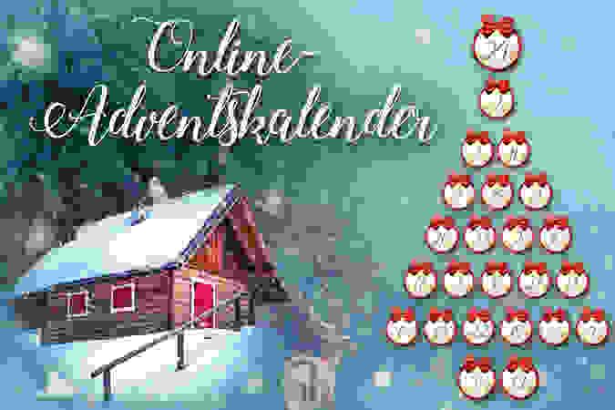 Online-Adventskalender - jetzt Schnäppchen sichern!